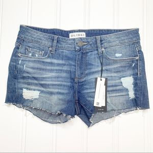 NWT DL1961 Renee Cut Off Shorts In Haskin Size 26